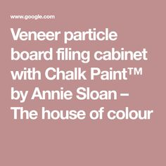 How To Paint Vinyl Coated Particle Board Furniture