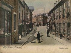 Ellesmere Shropshire Beautiful Market Town: Ellesmere Shropshire vintage postacard pictures