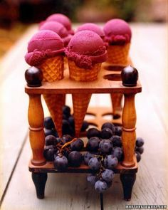 """See the """"Concord Grape Sorbet"""" in our Grape Recipes gallery"""