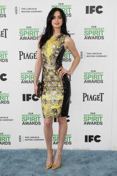 Krysten Ritter in Versace   Independent Spirit Awards 2014