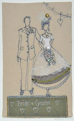 Bride and Groom : Michelle Holmes