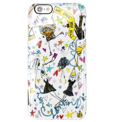 Multicolour We Love You All iPhone 6 case from Lanvin.