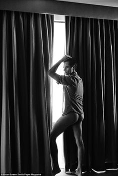 John Stamos is showing off his derriere for Paper Magazine's #Fandemonium issue....