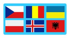 Flags of Europe Quiz: extremely challenging quiz including the flags of the 46 countries of Europe. Have fun and train your brain! Europe Quiz, World Geography Games, Flag Of Europe, Flag Game, Choices Game, Train Your Brain, Online Games, Play, Learning