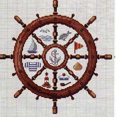Soooo many free nautical cross stitch patterns here! Cross Stitch Sea, Cross Stitch Flowers, Cross Stitch Charts, Cross Stitch Designs, Cross Stitch Patterns, Cross Stitching, Cross Stitch Embroidery, Embroidery Patterns, Crochet Cross