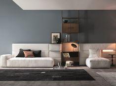 Sectional sofa Comp. Set /03 Set Collection by Twils | design Giuseppe Viganò