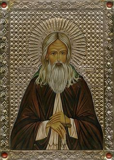 "St. Herman of Alaska, Russian Orthodox monk - traveled with 8 other monks in 1793 to bring the Gospel to the Aleuts and Eskimos in the Aleutian Islands. Russians had been exploring & trading in the Americas since at least 1740. He built a school for the Aleutians, defended them from injustices & exploitation of Russian traders & was known to them as Apa (""Grandfather""). A portion of his relics are enshrined at St. Ignatius Chapel at the Antiochian Village, where he is regarded as a patron…"