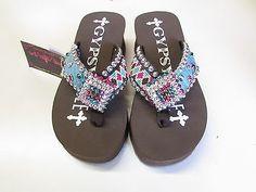 6767ac456584 Gypsy-Soule-Womens-Ariel-Embellished-Flip-Flops Ariel