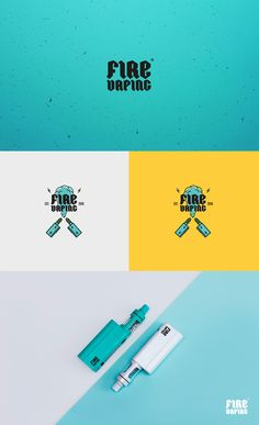 Fire Vaping. Logo. on Behance