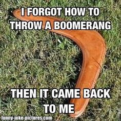 Funny Australian Aborigine Boomerang Jokes | Funny Joke Pictures