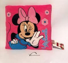 Disney Vankúš Fleece 35x35 cm Minie Mouse