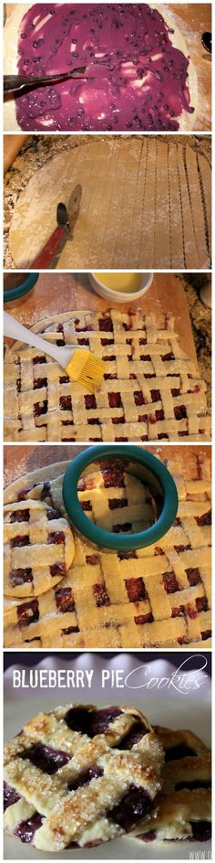 A must-try for blueberry pie lovers!