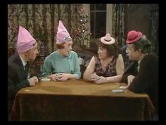 Hylda baker- Nellie tries to contact dead father pt 1 British Tv Comedies, British Comedy, Comedy Clips, Comedy Tv, Are You Being Served, My Heritage, Comedians, Vintage Christmas, Nostalgia