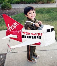 DIY Airplane costume!
