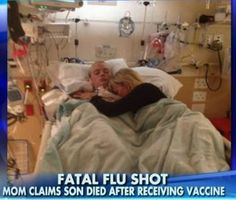 Utah mother blames flu shots for the death of his son and countless numbers of studies have linked vaccines to neurological problems and brain damage. A similar situation is happening with my grandpa and a vaccination he received. This is a personal story that reflects the opposition of my argument but can help me if I can address an explanation to what happened to him.