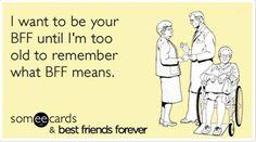 Elderly Friends Forever Bf