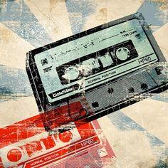 Print: Tape Retro Pop