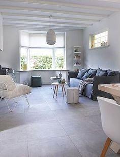 vtwonen tegels by Douglas & Jones - Douglas & Jones Interior Design, House Interior, Moving House, Home, House Flooring, Living Room Tiles, Living Room Flooring, Home Deco, Home Decor