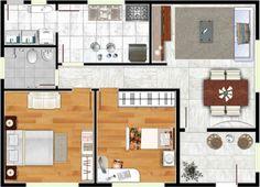 Planos de casas de 6x10