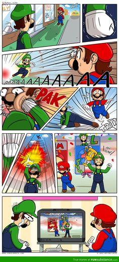 Mario does it again!