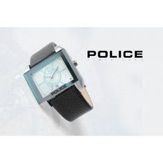 POLICE PL-2326 BLACK SILVER  + BONUS BOX POLICE  + TANGGAL AKTIF  TALI : KULIT  Rp 200.ooo,-