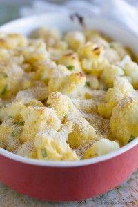 Cheddar Cauliflower Gratin - Taste and Tell