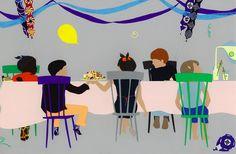 Ida Pearle - Birthday #illustration