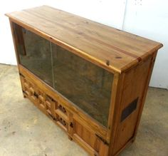 build a reptile cabinet | Timber reptile cabinet enclosure snake lizard dragon…