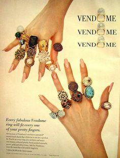Vintage jewelry ad