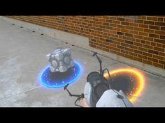 Microsoft HoloLensを使ったARゲームはこんな感じValve Portalのデモビデオ