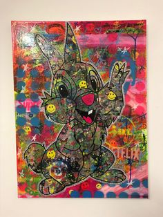 Hey Girl Hey Boy by Barrie J Davies 2020 Brighton England, Fine Arts Degree, Human Condition, Free Stickers, Hey Girl, Mixed Media Canvas, Art Paintings, Psychedelic, Pop Art