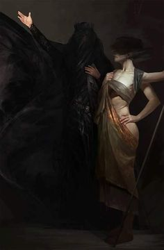 The superb fantasy themed paintings and character artworks of Igor Sid, a artist and freelance illustrator based in Saint Petersburg, Russia. Dark Fantasy Art, Foto Fantasy, Dark Art, Art And Illustration, Arte Obscura, Arte Horror, Aesthetic Art, Vampires, Slytherin