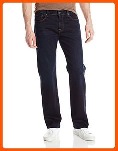 7 For All Mankind Men's Austyn Relaxed Straight-Leg Luxe Jean in Undiscovered, Undiscovered, 28 - Mens world (*Amazon Partner-Link)