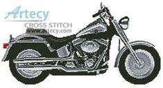 Harley 1 cross stitch pattern.