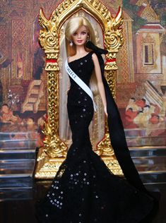 Barbie MISS BEAUTY DOLL 2009 THAILAND Miss Greece