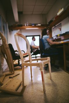 Luigi XVI chair by Venetasedie Production