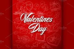 Valentines Day Background. Wedding Card Templates