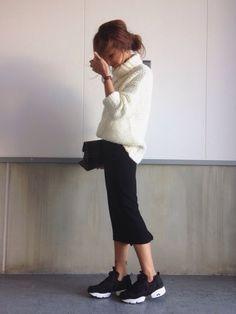 Ameriのニット/セーター「ANN'S CABLE TURTLE KNIT」を使ったkayoのコーディネートです。WEARはモデル・俳優・ショップスタッフなどの着こなしをチェックできるファッションコーディネートサイトです。