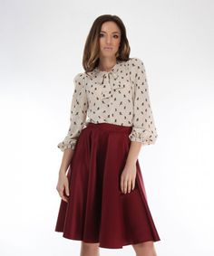 bluza matase Ethical Fashion Brands, Skater Skirt, Casual, Skirts, Atelier, Skater Skirts, Skirt, Gowns