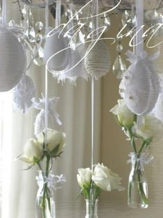Hanging Eggs - 80 Fabulous Easter Decorations You Can Make Yourself