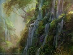 forest 2 by snowskadi - Concept Art by Snow Skadi  <3 <3