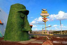 You Must Visit These 13 Bizarre Route 66 Attractions In Arizona Sedona Prescott Phoenix Scottsdale Flagstaff AZ Tempe Mesa Gilbert Payson Arizona  Bucket List Travel Road Trip