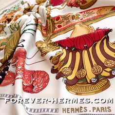 Hermes Paris silk scarf titled #Gastronomie designed by French Artist Christiane Vauzelles very rare & in store now! http://forever-hermes.com #ForeverHermes features Still Life of #Homard #Lobster #pheasant bird, #SeaFood #urchin #oyster French #cheese and wine as well as fruits and #cakes would look stunning on your #restaurant wall or #kitchen decoration for a luxurious home! #Hermes collector #MensSuit #mensnecktie #mensfashion #womensfashion #gastronomy #chef #cuisine #gourmet #cooking