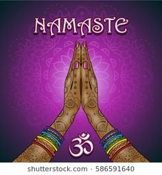 Find namaste hands stock images in HD and millions of other royalty-free stock photos, illustrations and vectors in the Shutterstock collection. Yoga Studio Design, Meditation Art, Yoga Art, Namaste Art, Chakra Art, Yoga Mantras, Psy Art, Beatles, Cute Memes