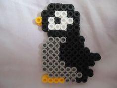 Penguin perler beads by PerlerHime
