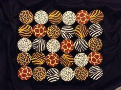 Safari Theme Cupcakes | Safari Theme | Pinterest | Safari Africano ...