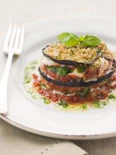 Easily made into gluten free by replacing bread crumbs for gluten free bread crumbs.. looks yummy.. I'm hungry..  Italian Recipe: Eggplant Parmesan