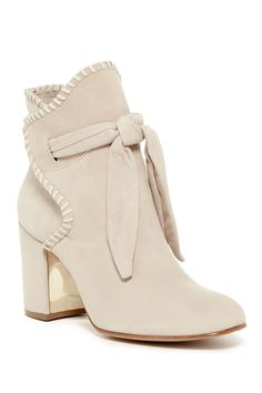Obsessed with these Sand colored Rachel Zoe Tilia Bootie
