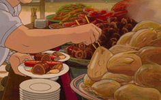 spirited away food - Google Search