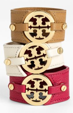 Tory Burch Double Snap Cuff available at Nordstrom